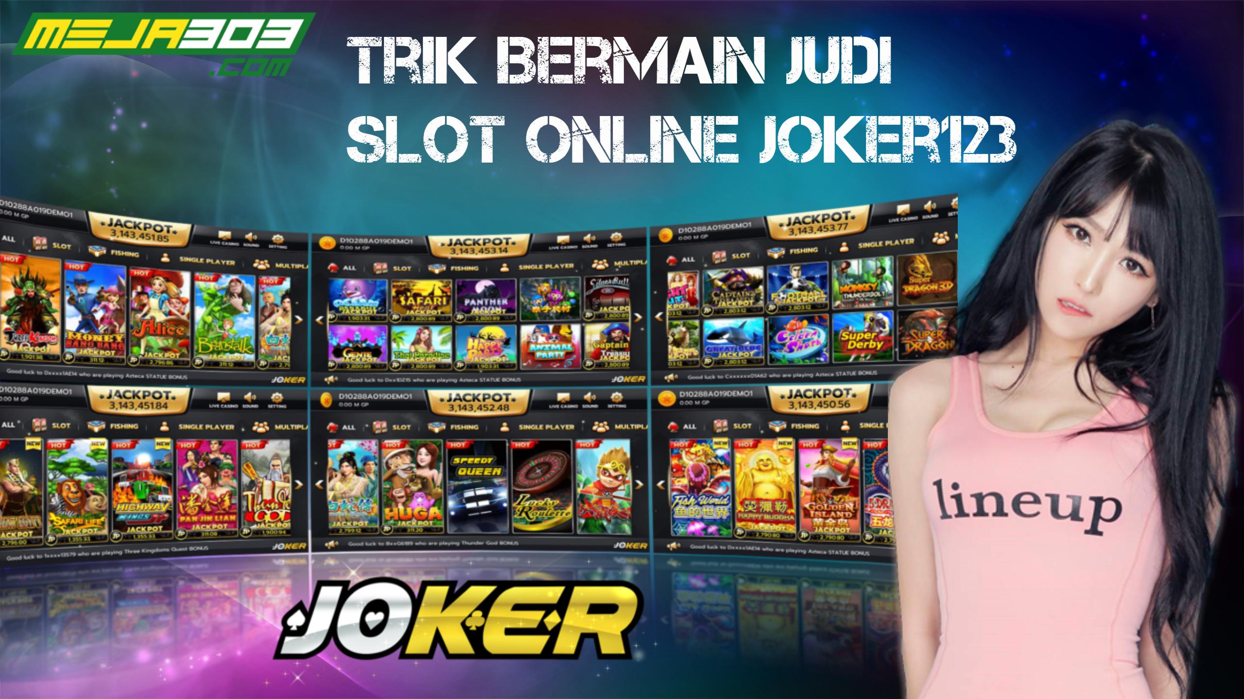 trik bermain judi slot online
